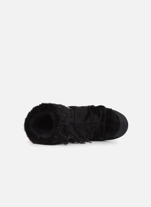 Sport shoes Moon Boot Moon Boot Classic Faux Fur Black view from the left