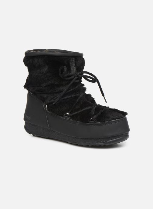 Chaussures de sport Moon Boot Moon Boot Monaco Low Fur WP Noir vue détail/paire