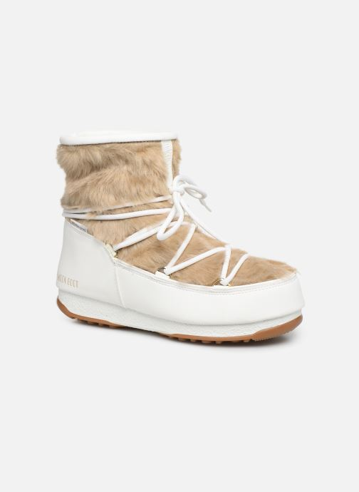 Sport shoes Moon Boot Moon Boot Monaco Low Fur WP White detailed view/ Pair view