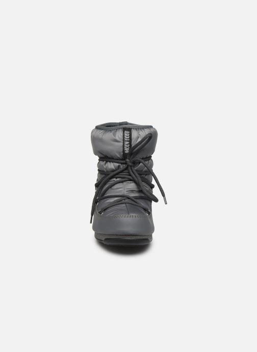 Chaussures de sport Moon Boot Moon Boot Low Nylon WP 2 Gris vue portées chaussures