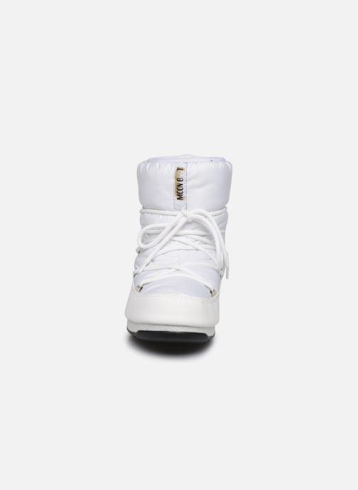 Chaussures de sport Moon Boot Moon Boot Low Nylon WP 2 Blanc vue portées chaussures