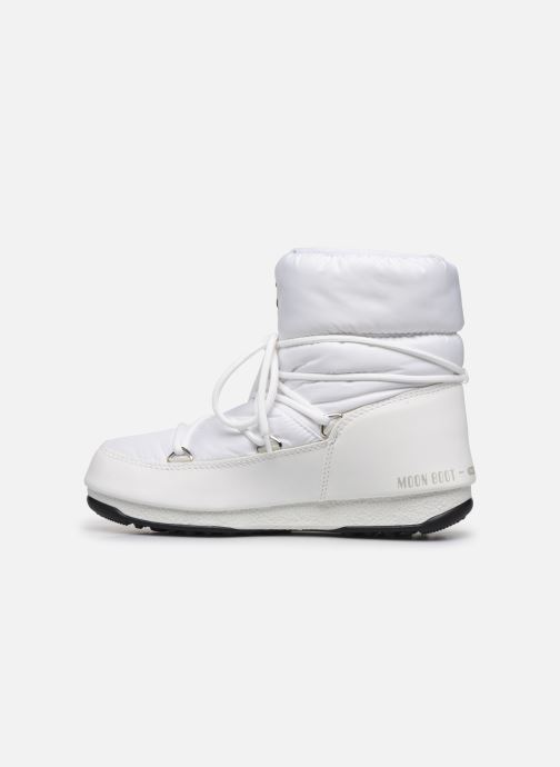 Scarpe sportive Moon Boot Moon Boot Low Nylon WP 2 Bianco immagine frontale