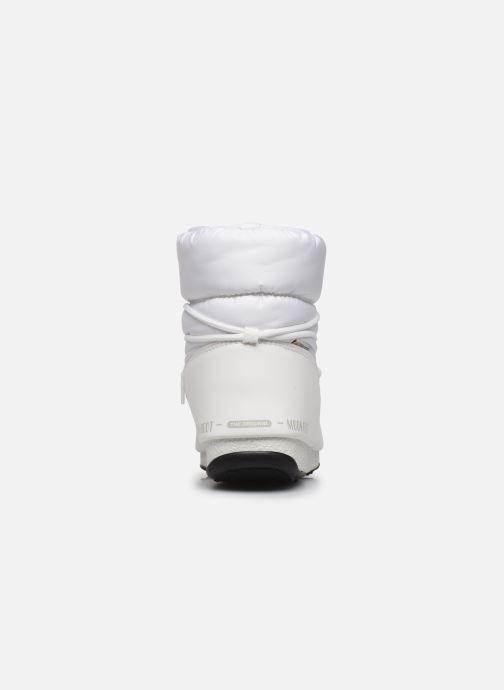 Zapatillas de deporte Moon Boot Moon Boot Low Nylon WP 2 Blanco vista lateral derecha
