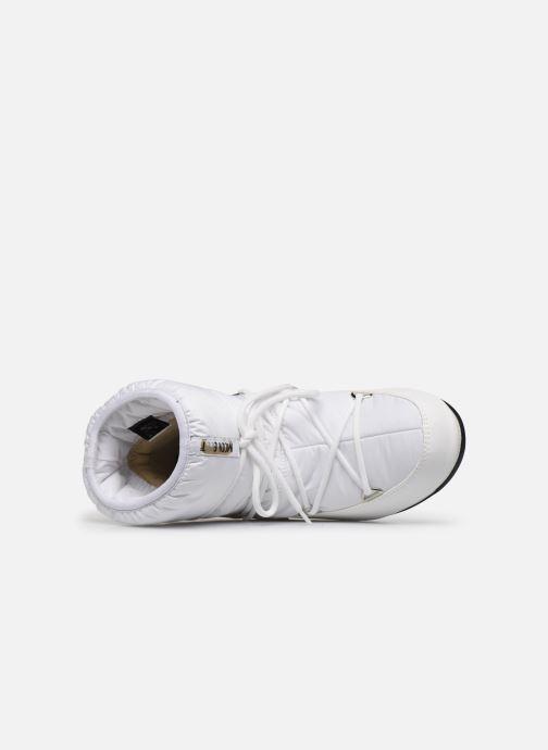 Zapatillas de deporte Moon Boot Moon Boot Low Nylon WP 2 Blanco vista lateral izquierda
