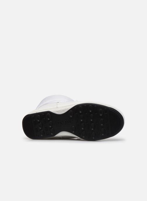 Chaussures de sport Moon Boot Moon Boot Low Nylon WP 2 Blanc vue haut