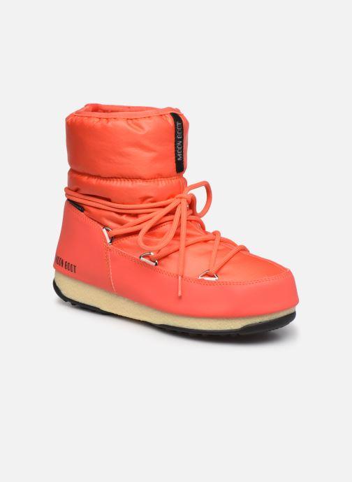 Chaussures de sport Moon Boot Moon Boot Low Nylon WP 2 Orange vue détail/paire