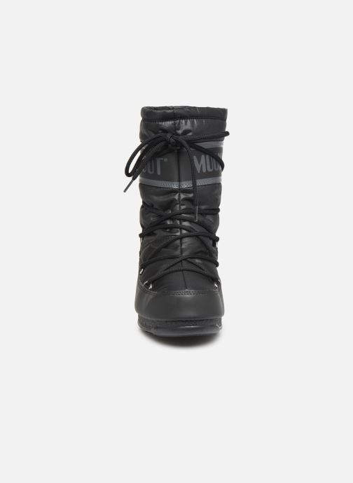Chaussures de sport Moon Boot Moon Boot Mid Nylon WP Noir vue portées chaussures