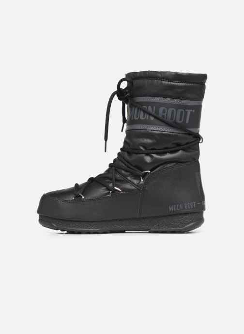 Sport shoes Moon Boot Moon Boot Mid Nylon WP Black front view