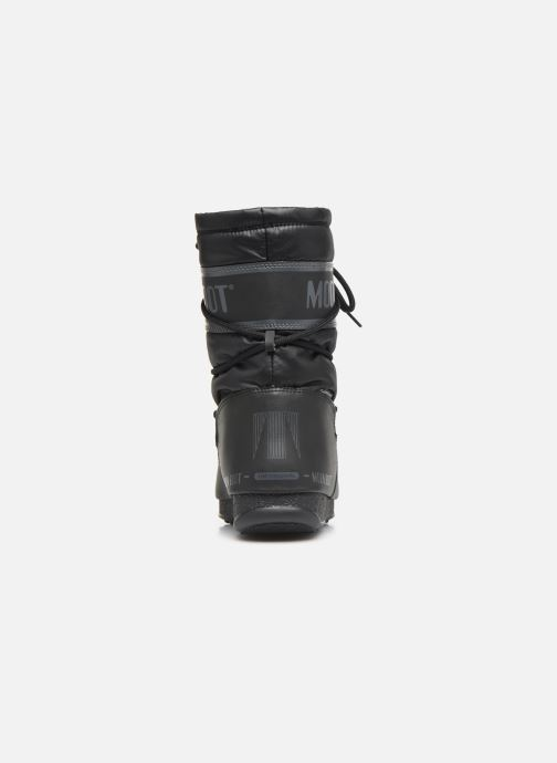 Chaussures de sport Moon Boot Moon Boot Mid Nylon WP Noir vue droite