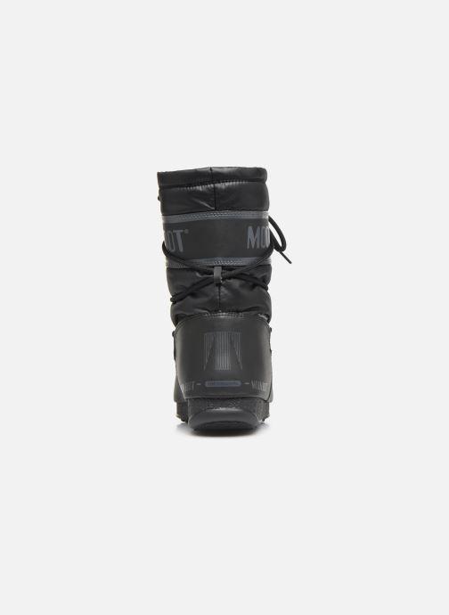 Zapatillas de deporte Moon Boot Moon Boot Mid Nylon WP Negro vista lateral derecha