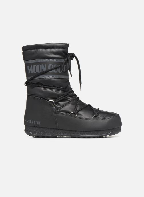 Sport shoes Moon Boot Moon Boot Mid Nylon WP Black back view