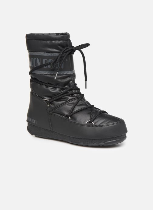 Sport shoes Moon Boot Moon Boot Mid Nylon WP Black detailed view/ Pair view