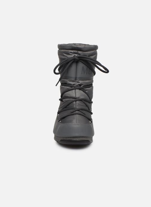 Sportschuhe Moon Boot Moon Boot Mid Nylon WP grau schuhe getragen