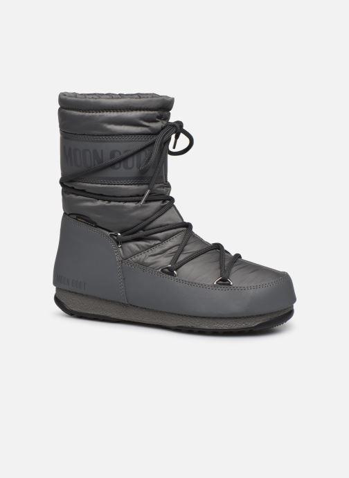 Chaussures de sport Moon Boot Moon Boot Mid Nylon WP Gris vue détail/paire