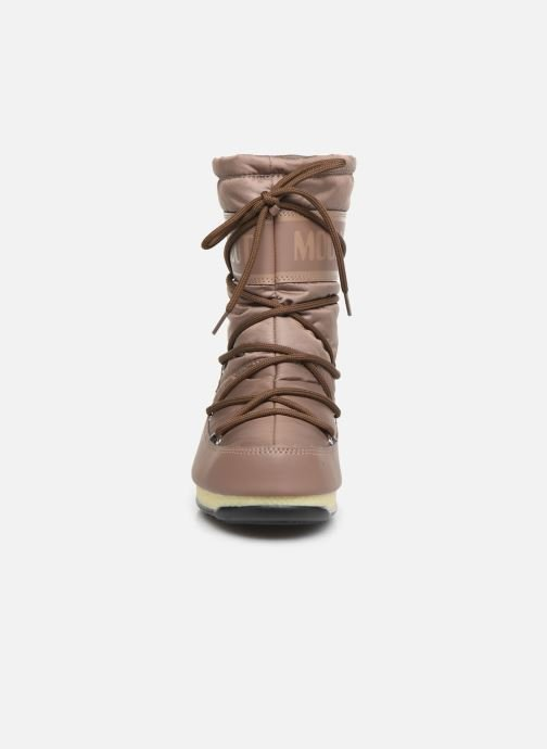 Sport shoes Moon Boot Moon Boot Mid Nylon WP Brown model view