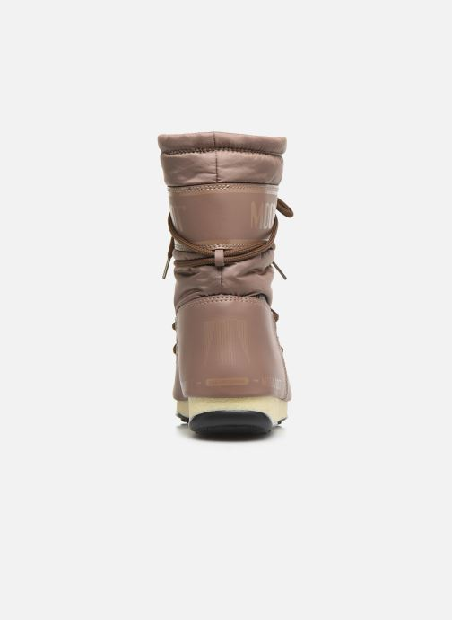 Sport shoes Moon Boot Moon Boot Mid Nylon WP Brown view from the right