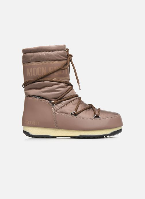 Sport shoes Moon Boot Moon Boot Mid Nylon WP Brown back view