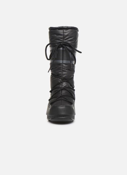 Zapatillas de deporte Moon Boot Moon Boot High Nylon WP Negro vista del modelo