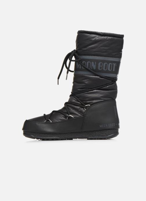 Zapatillas de deporte Moon Boot Moon Boot High Nylon WP Negro vista de frente