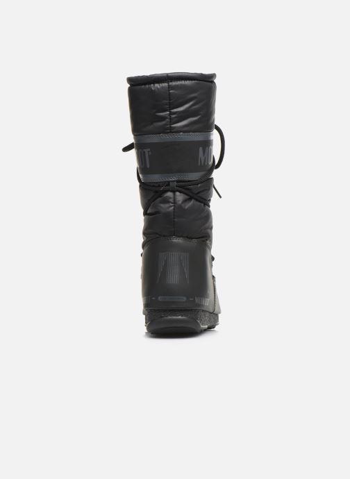 Zapatillas de deporte Moon Boot Moon Boot High Nylon WP Negro vista lateral derecha