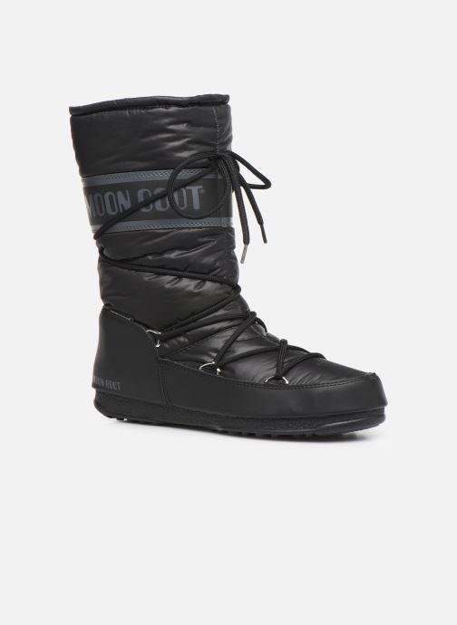 Zapatillas de deporte Moon Boot Moon Boot High Nylon WP Negro vista de detalle / par
