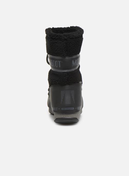 Zapatillas de deporte Moon Boot Moon Boot Monaco Wool Mid WP Negro vista lateral derecha