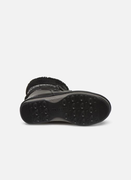 Chaussures de sport Moon Boot Moon Boot Monaco Wool Mid WP Noir vue haut