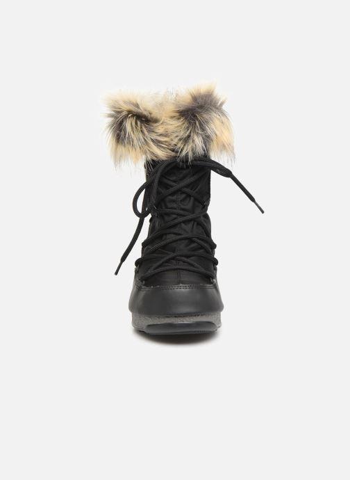 Chaussures de sport Moon Boot Moon Boot Monaco Low WP 2 Noir vue portées chaussures