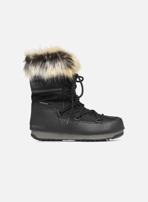 Sport shoes Moon Boot Moon Boot Monaco Low WP 2 Black back view