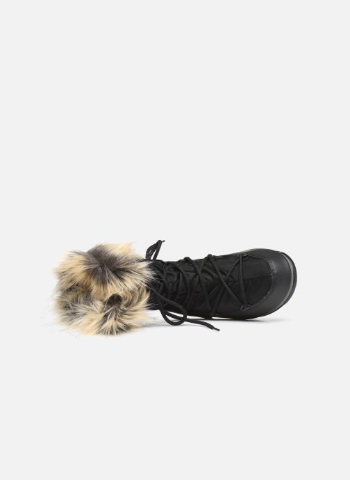 Sport shoes Moon Boot Moon Boot Monaco Low WP 2 Black view from the left