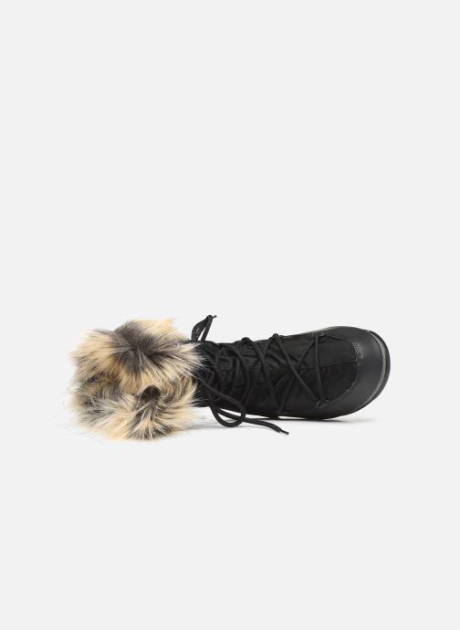 Chaussures de sport Moon Boot Moon Boot Monaco Low WP 2 Noir vue gauche