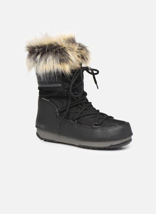 Chaussures de sport Moon Boot Moon Boot Monaco Low WP 2 Noir vue détail/paire