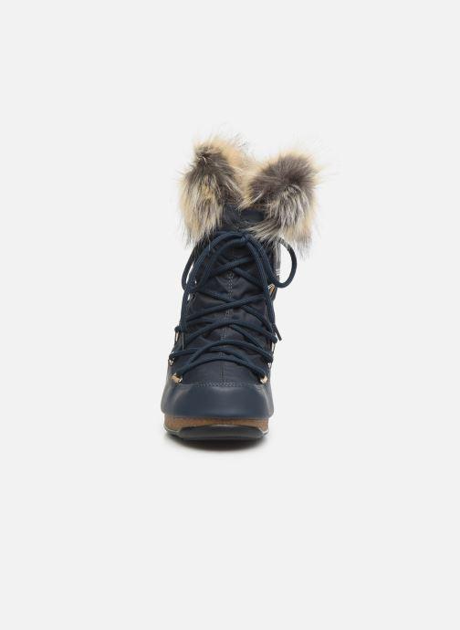 Chaussures de sport Moon Boot Moon Boot Monaco Low WP 2 Bleu vue portées chaussures