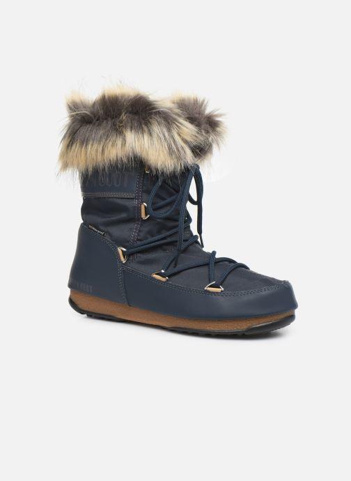 Chaussures de sport Moon Boot Moon Boot Monaco Low WP 2 Bleu vue détail/paire