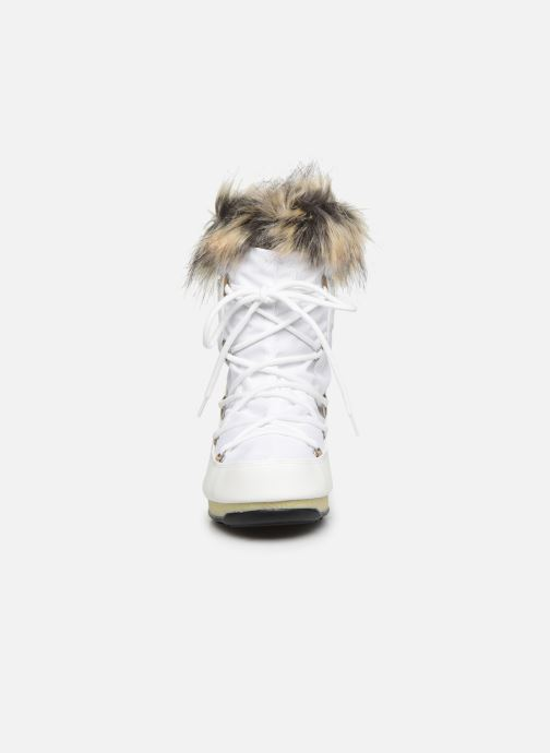 Scarpe sportive Moon Boot Moon Boot Monaco Low WP 2 Bianco modello indossato