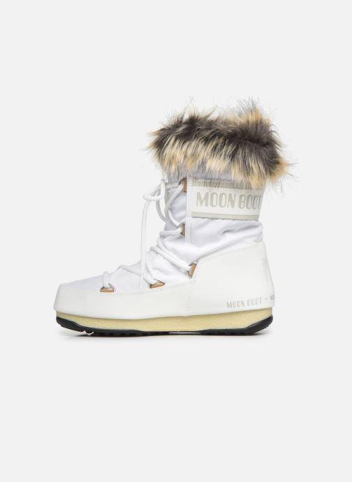 Zapatillas de deporte Moon Boot Moon Boot Monaco Low WP 2 Blanco vista de frente