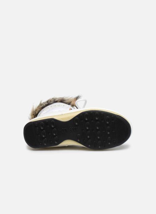 Chaussures de sport Moon Boot Moon Boot Monaco Low WP 2 Blanc vue haut