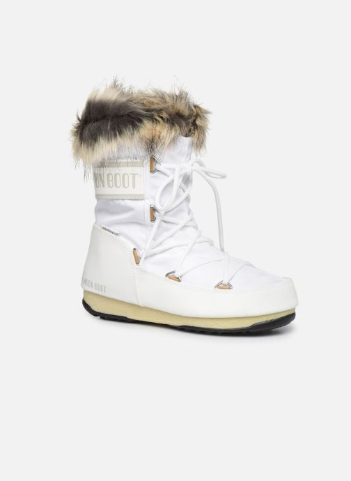 Chaussures de sport Moon Boot Moon Boot Monaco Low WP 2 Blanc vue détail/paire