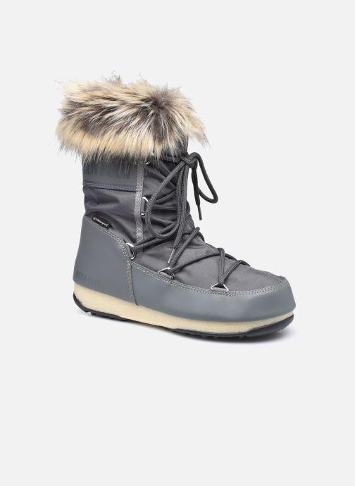 Chaussures de sport Moon Boot Moon Boot Monaco Low WP 2 Gris vue détail/paire
