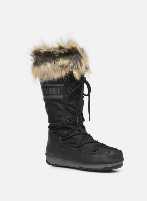 Chaussures de sport Moon Boot Moon Boot Monaco WP 2 Noir vue détail/paire