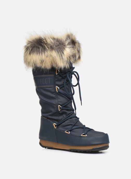Chaussures de sport Moon Boot Moon Boot Monaco WP 2 Bleu vue détail/paire