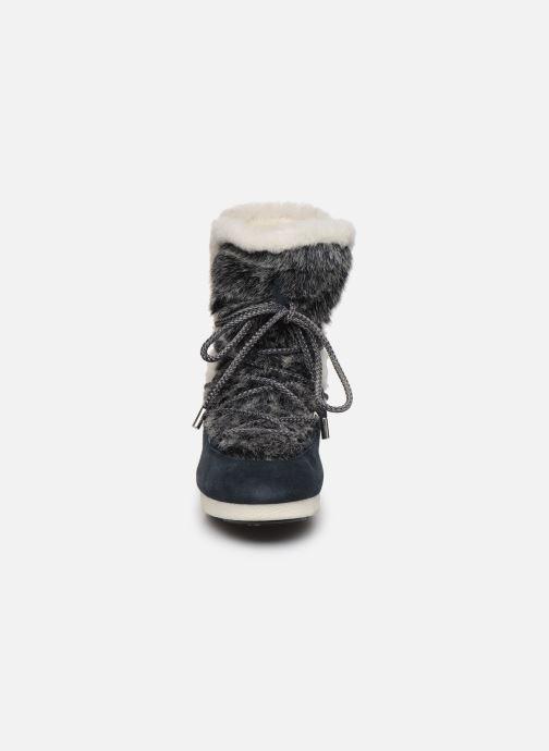 Zapatillas de deporte Moon Boot Moon Boot Far Side High Faux Fur Azul vista del modelo