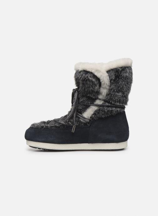 Zapatillas de deporte Moon Boot Moon Boot Far Side High Faux Fur Azul vista de frente