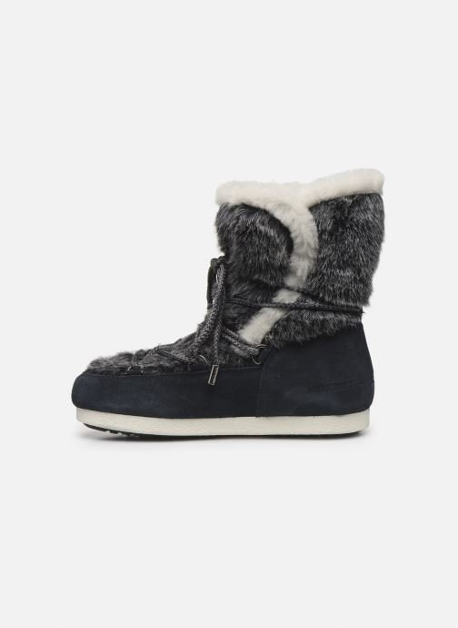 Scarpe sportive Moon Boot Moon Boot Far Side High Faux Fur Azzurro immagine frontale