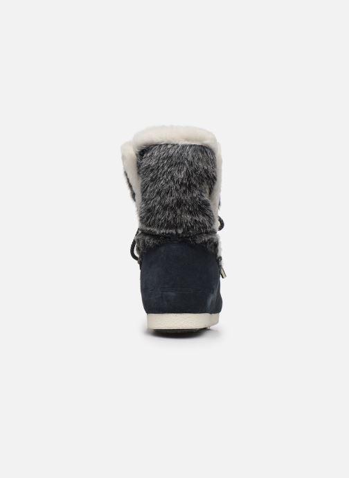 Zapatillas de deporte Moon Boot Moon Boot Far Side High Faux Fur Azul vista lateral derecha