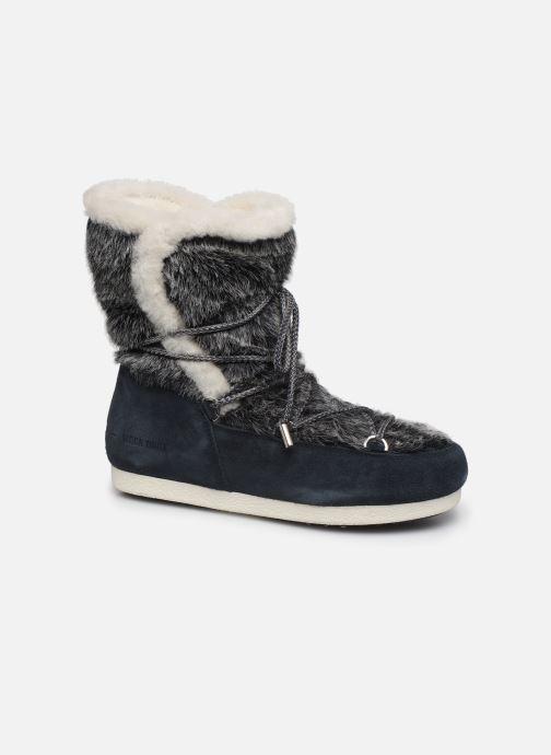 Zapatillas de deporte Moon Boot Moon Boot Far Side High Faux Fur Azul vista de detalle / par