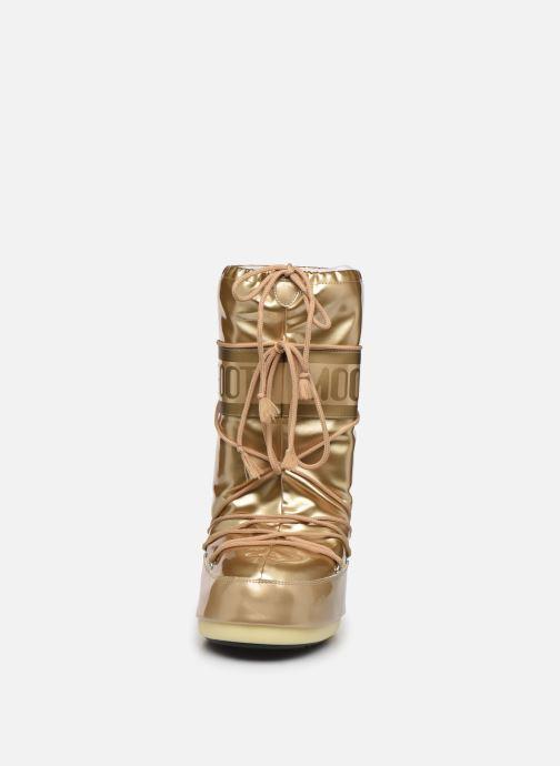 Zapatillas de deporte Moon Boot MB Vinil Met  Oro y bronce vista del modelo