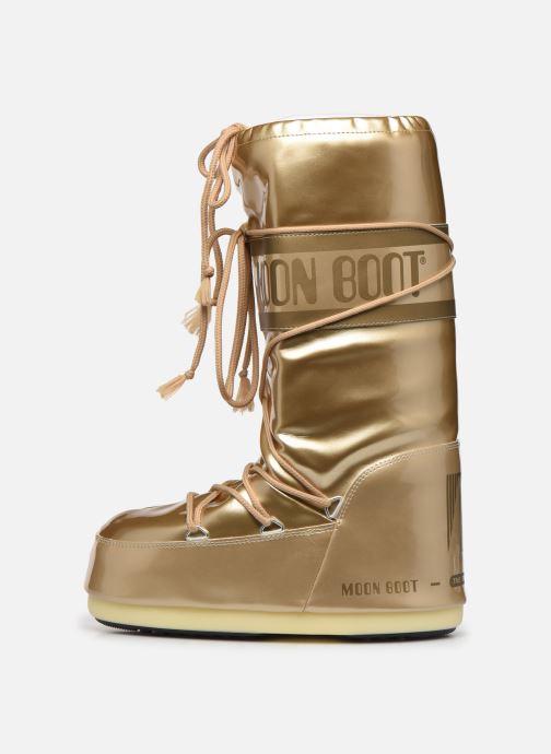 Zapatillas de deporte Moon Boot MB Vinil Met  Oro y bronce vista de frente