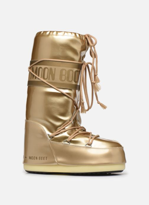 Sport shoes Moon Boot MB Vinil Met  Bronze and Gold back view