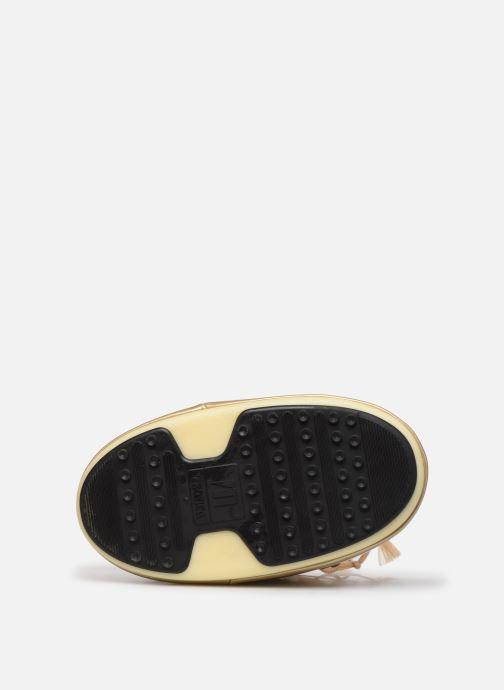 Zapatillas de deporte Moon Boot MB Vinil Met  Oro y bronce vista de arriba